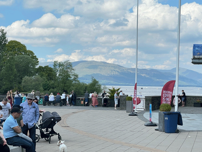 Loch Lomond Shores Views