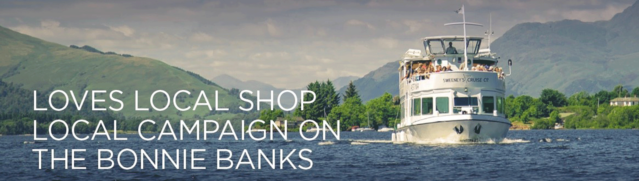 Loves Local, Shop Local on the Bonnie Banks
